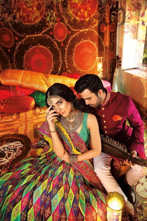 maya-ali-and-junaid-khan-photoshoot-for-nomi-ansar-bridal-wear- (7)