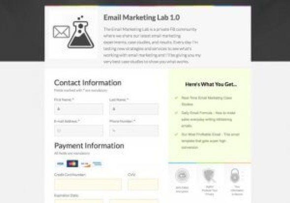 Exemples de sites Web Clickfunnels