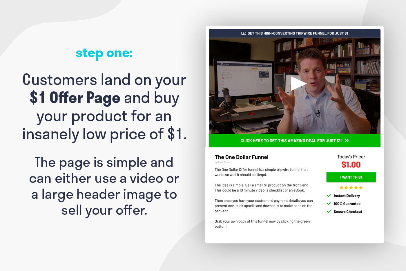 One Dollar Funnel Template