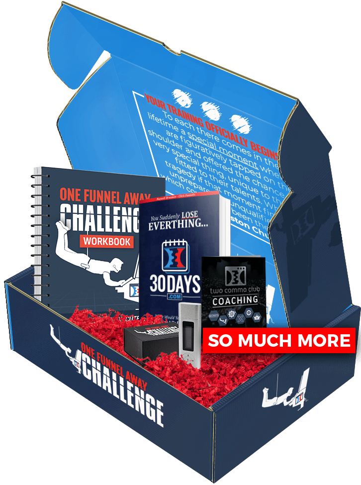 One Funnel Away Challenge Box