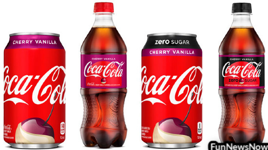 Coca-Cola Has A New Flavor – Cherry & Vanilla Coke