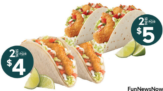 Del Taco Fish & Shrimp Tacos Are On Sale