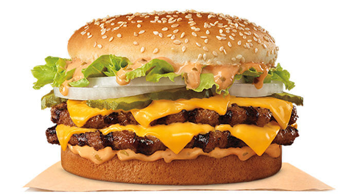 The Big King XL Sandwich is Back At Burger King