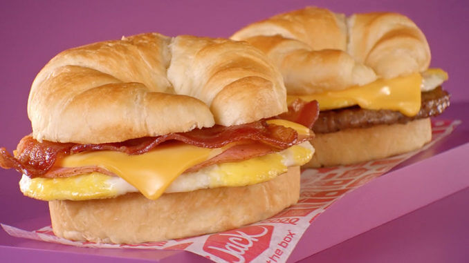 2 for $4 Breakfast Croissants at Jack In The Box