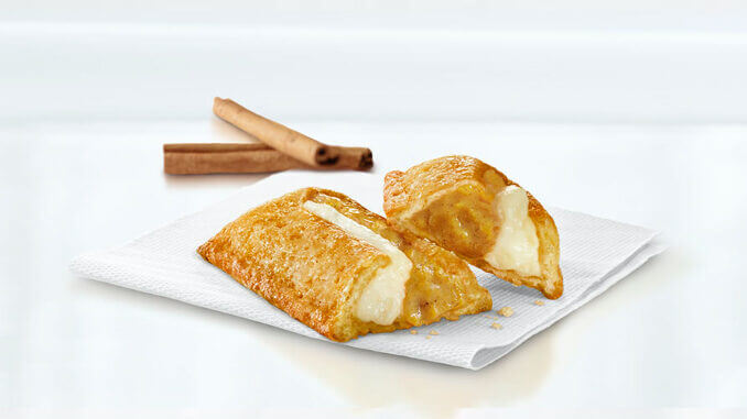 PUMPKIN AND CREME PIE Now At McDonald's