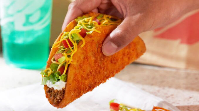 Taco Bell Brings Back Fan Favorite TOASTED CHEDDAR CHALUPA