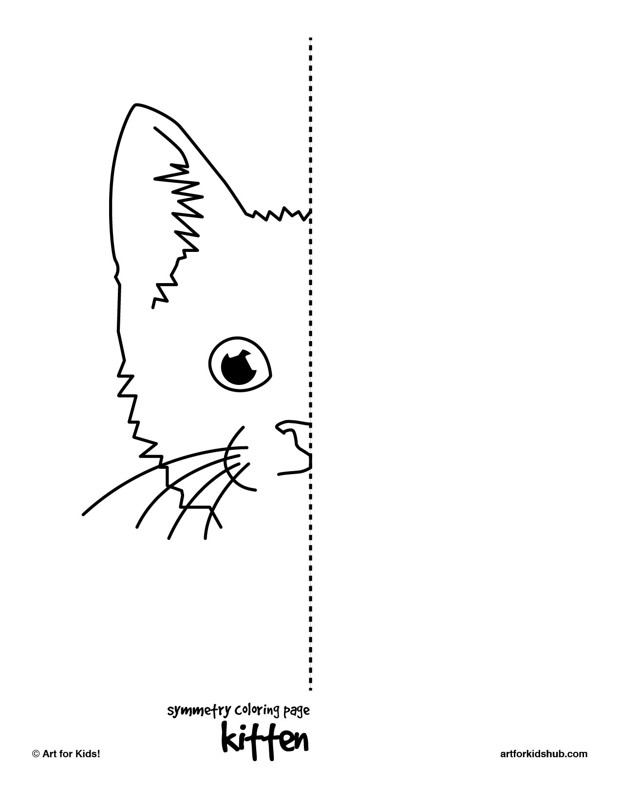 Symmetry Kitten Preschool And Homeschool