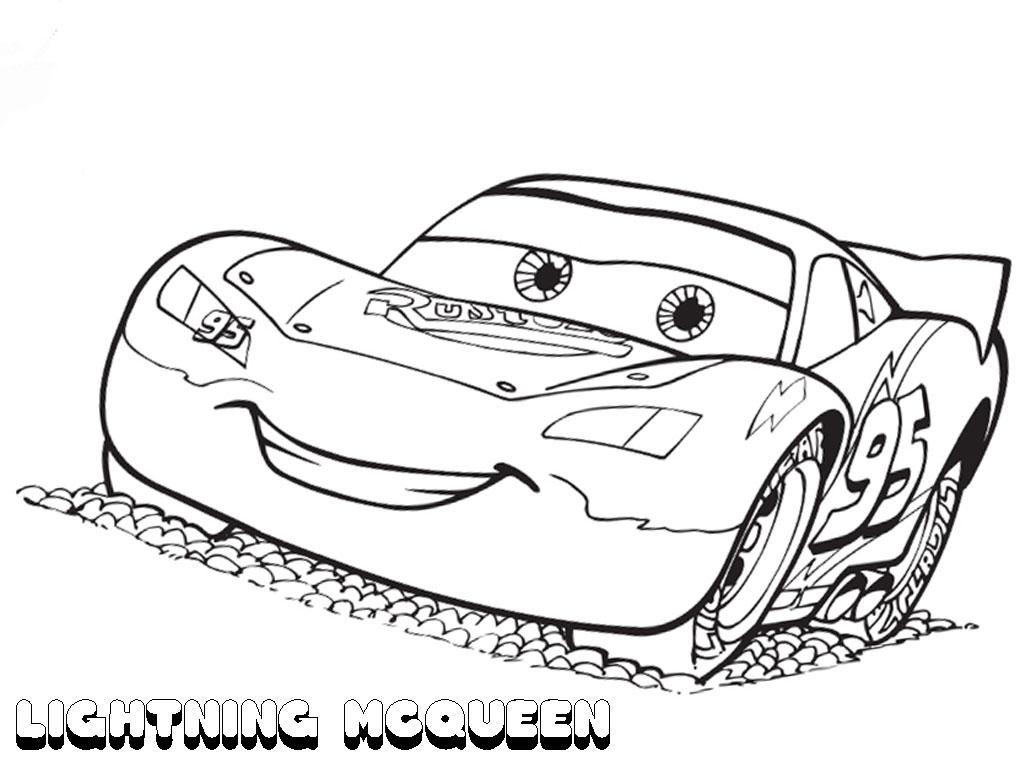 Lightning Mcqueen Coloring Pages 4 Preschool And Homeschool