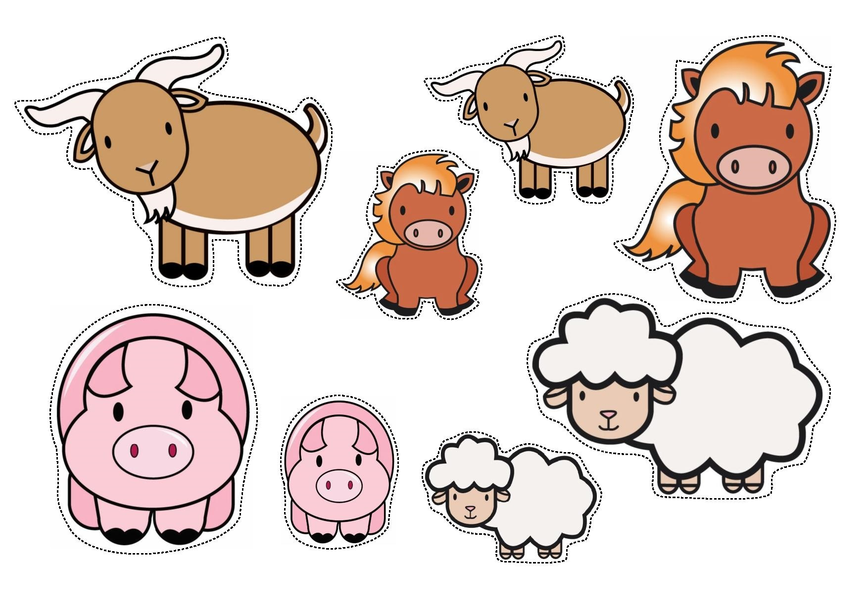 Worksheet Farm Animal Match