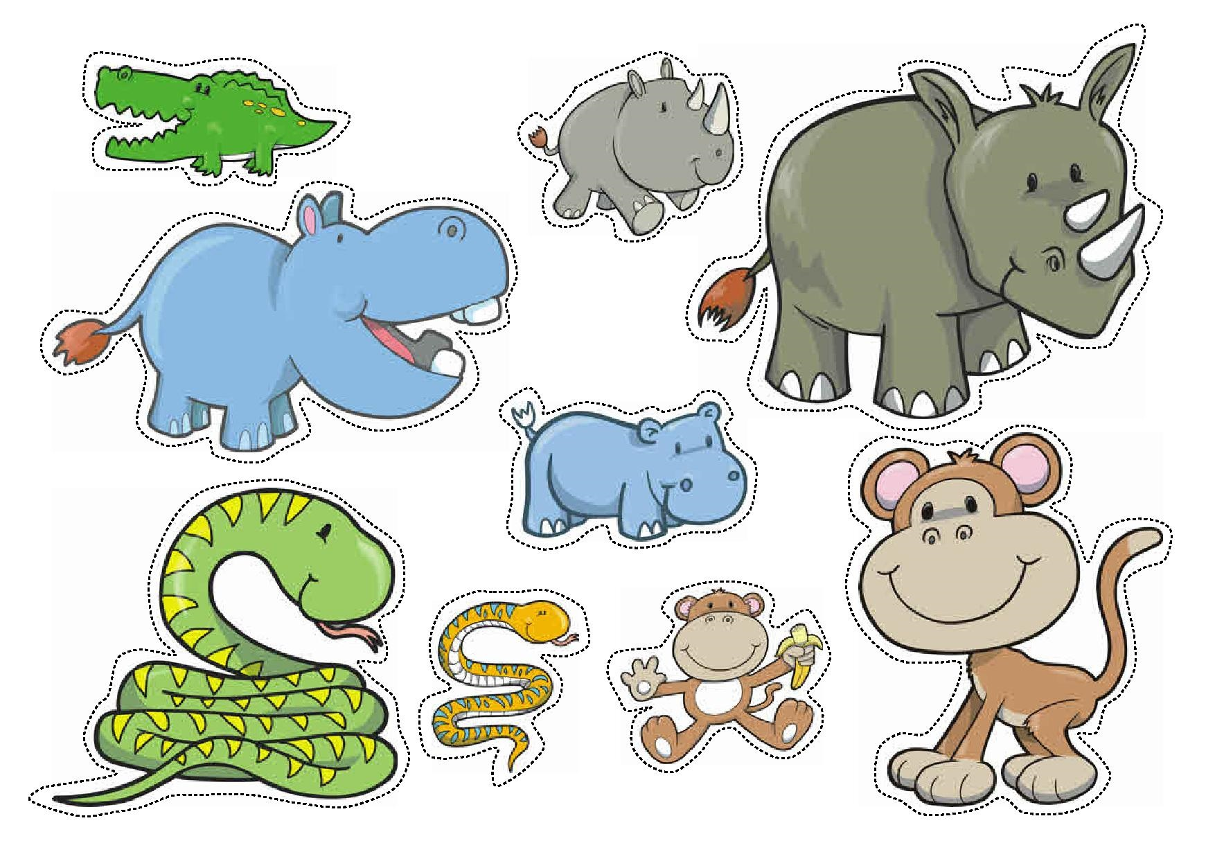 Wild Animals Sorting By Size Worksheets For Preschool Funnycrafts
