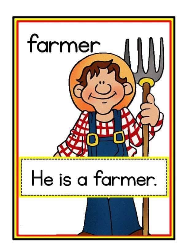 Jobs Flashcards 7 Preschool And Homeschool