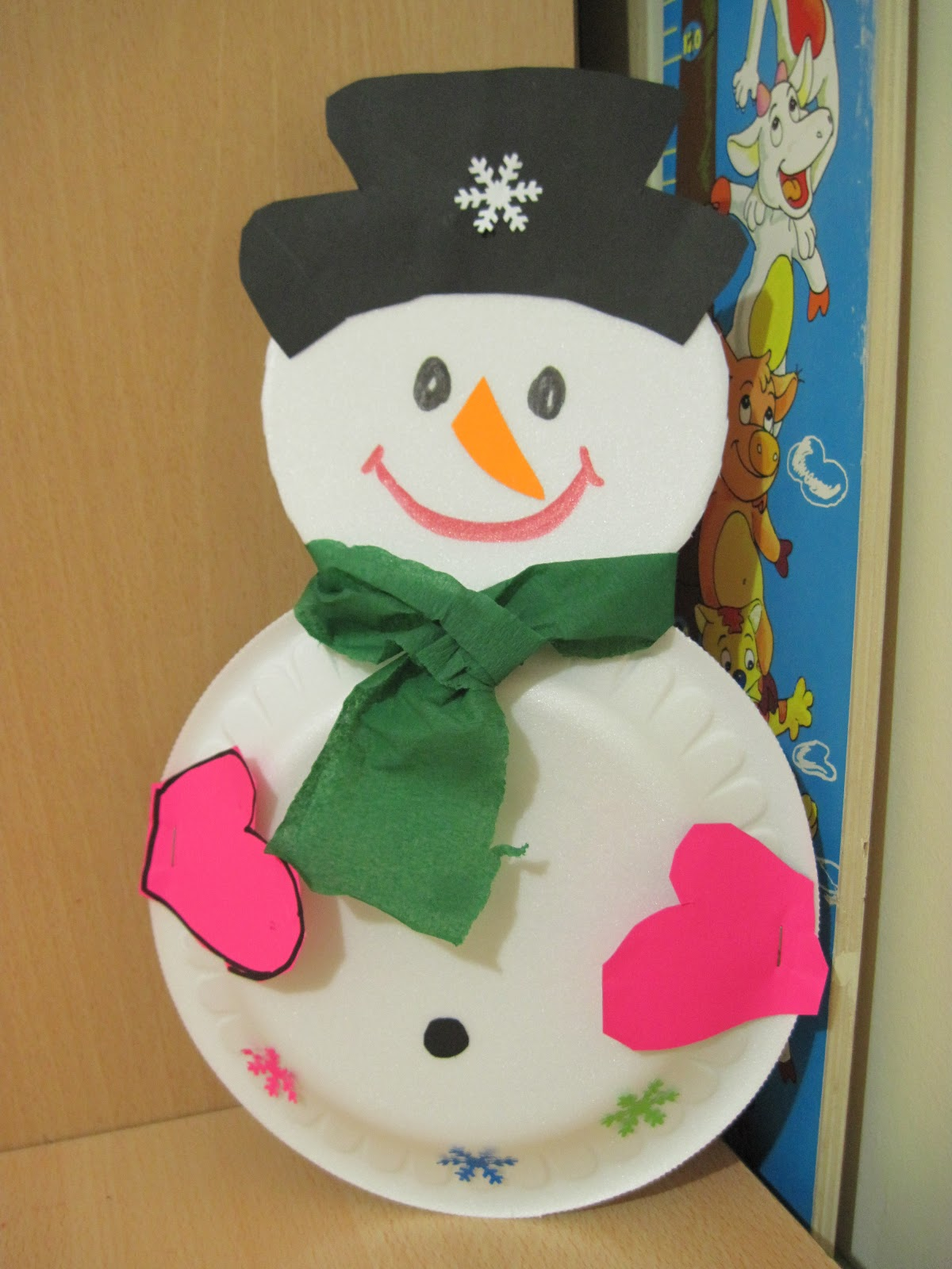 List Of Easy Snowman Crafts For Kids To Make 2 Preschool