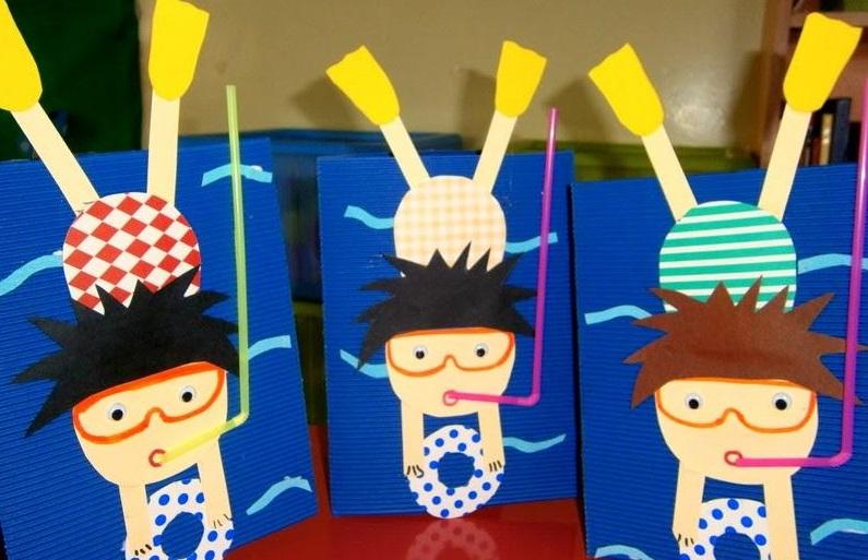 Scuba Diver Craft Ideas 1 Preschool And Homeschool
