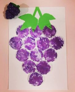 Grape Craft Preschool Funny Crafts