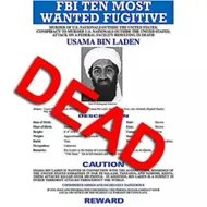 Osama bin Laden FBI Fugitive Poster - Dead