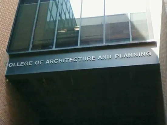 Funny ollege of architecture and planning