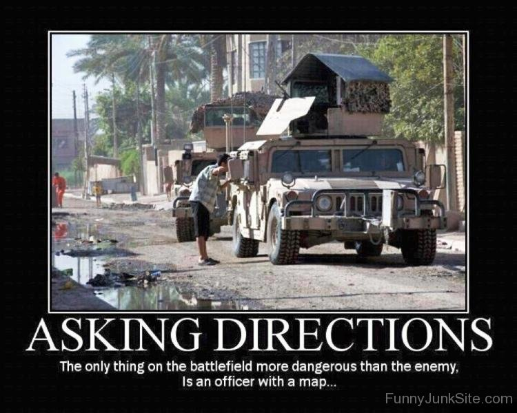 Funny Airsoft Pictures Asking Directions