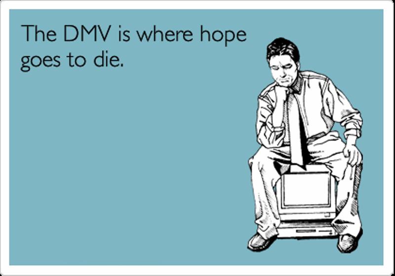 Image result for funny dmv images