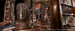 Hogwarts School Library. (We can but dream...)