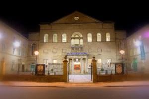 A fine little theatre. Lawrence Batley Theatre in wonderful Huddersfield