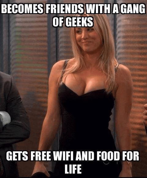 Funny Memes Free Wifi And Food