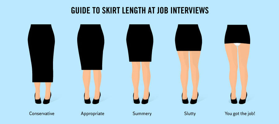 Funny Facts About Life - Success formula for girls to score at job interview