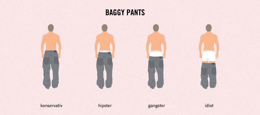 Strange & Weird Facts About Life - Style and pants