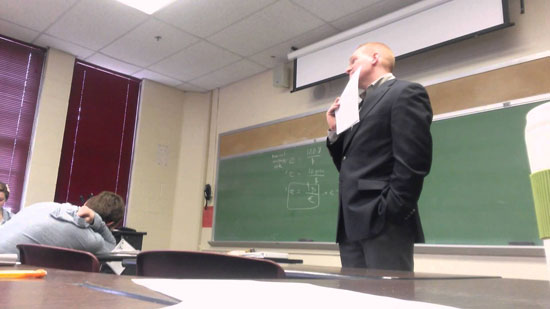 Students 'Genius April Fools' prank on professor might be the best classroom prank ever!