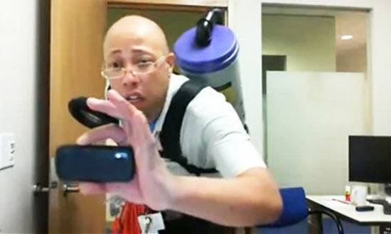 Fruit gets stolen from his office desk everyday. What he did to catch the thief will make you laugh!