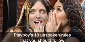 Playboy's 18 Unspoken Rules of Sex!