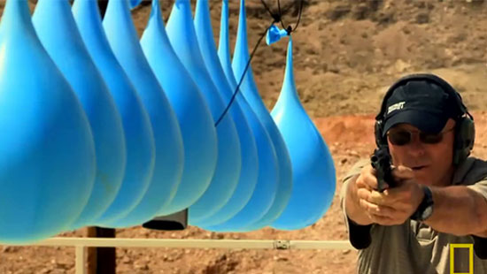 He Aimed His Gun at These Balloons. What Happened When He Pulled The Trigger Blew Me Away