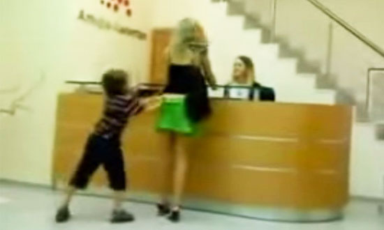 What Would You Do if Your Child Did THIS to You in Public?