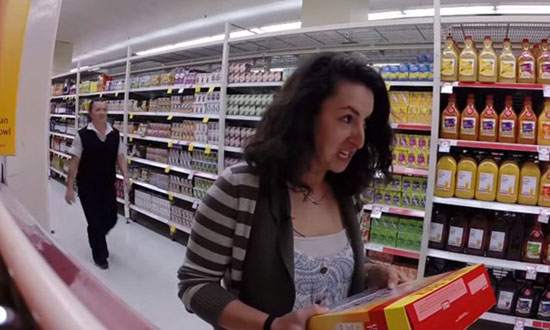 This mom was just shopping for her 4 kids and then something unexpected happened!