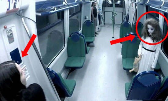 This Subway Ghost Prank Is So Scary, It's Not Even Funny Anymore!