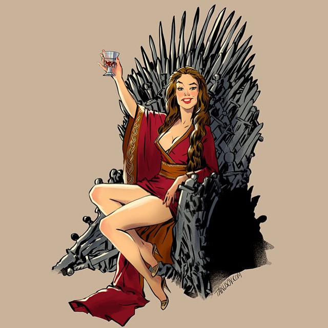 Cersei Lannister Game of Thrones Pinups