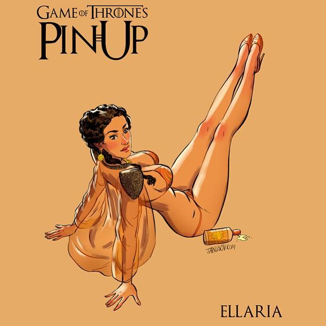 Ellaria Sand Game of Thrones Pinups