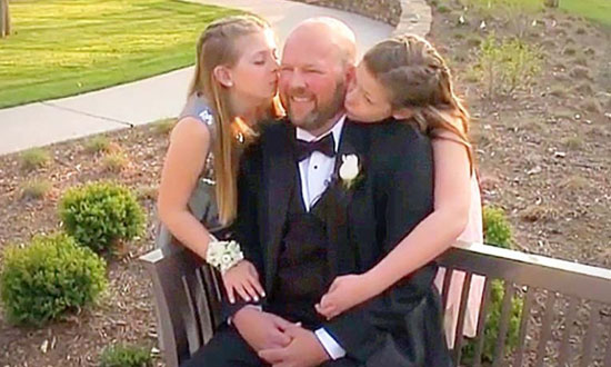 This father was given months to live. What he did for his daughters is beyond words