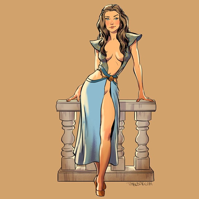 Margaery Tyrell Game of Thrones Pinups