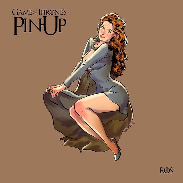 Ros Game of Thrones Pinups