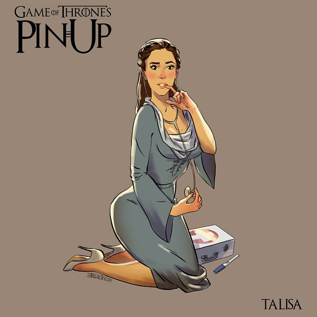 Talisa Stark Game of Thrones Pinups