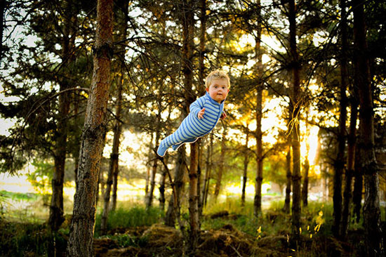 This dad helped his son with down syndrome 'Fly' in adorable photo series