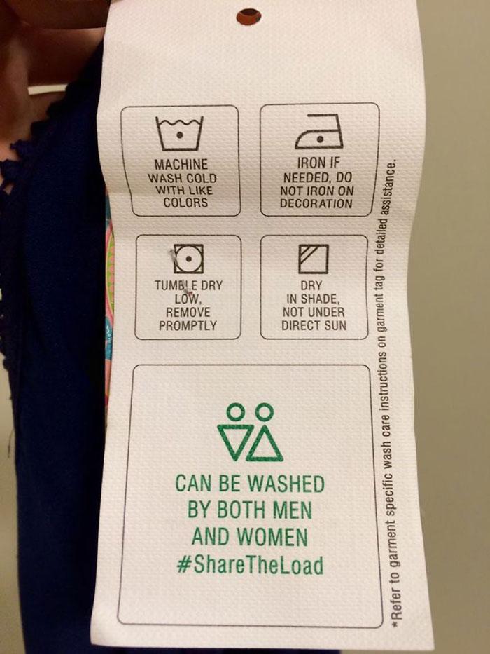 Hilarious Laundry Labels