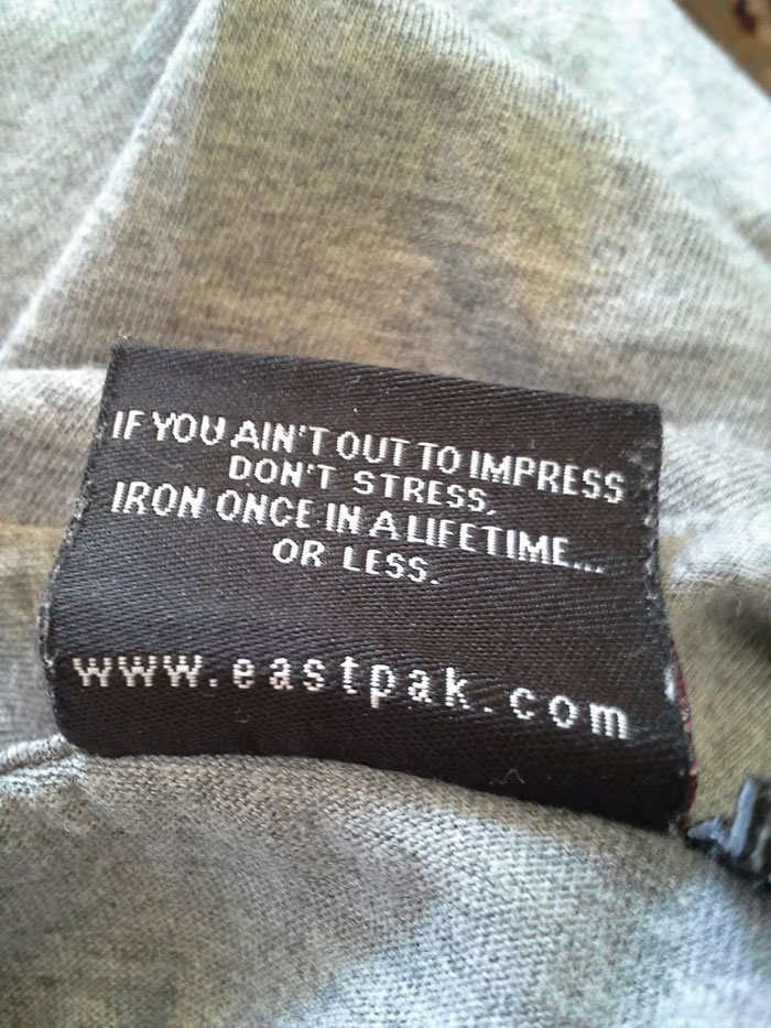 Funniest Clothing Tags Labels