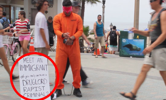 This Immigrant Labelled Himself as a Criminal and Rapist, Watch How the Public Responds!