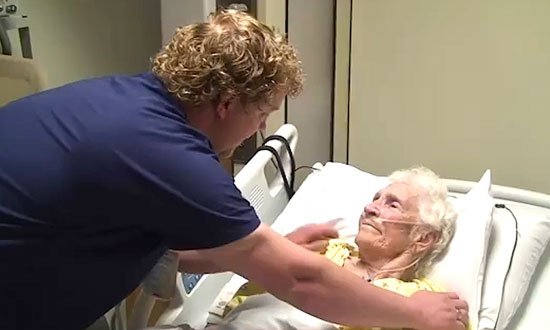 They caught him on camera inside the hospital, doing this to elderly patients