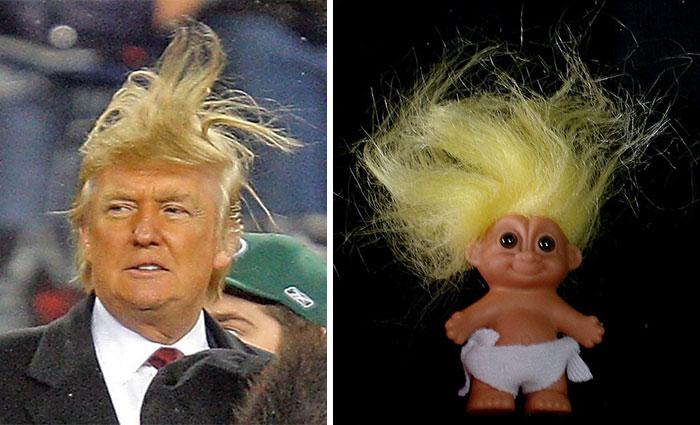 Donald Trump's Hilarious Hair Style