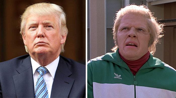 Trump's Magical & Funny Hair