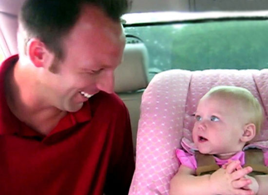 Adorable Babbling Baby Tells Daddy All About Her Day, And It's HYSTERICAL