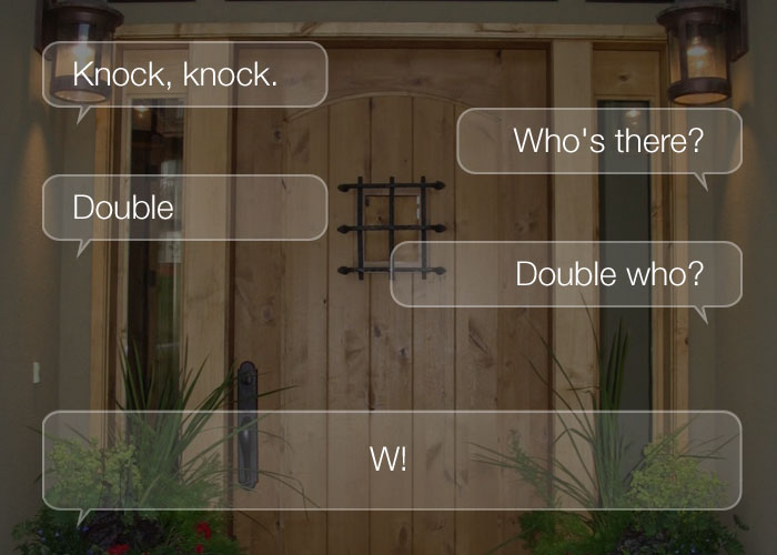 Best Knock Knock Jokes - Knock, knock. Who's there? Double. Double who? W!