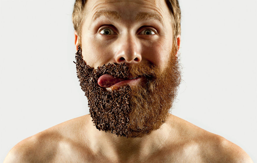 Beard Styles - Fifty Fifty Selfie Barber Shop